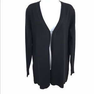 Spense Knits Black Cardigan New